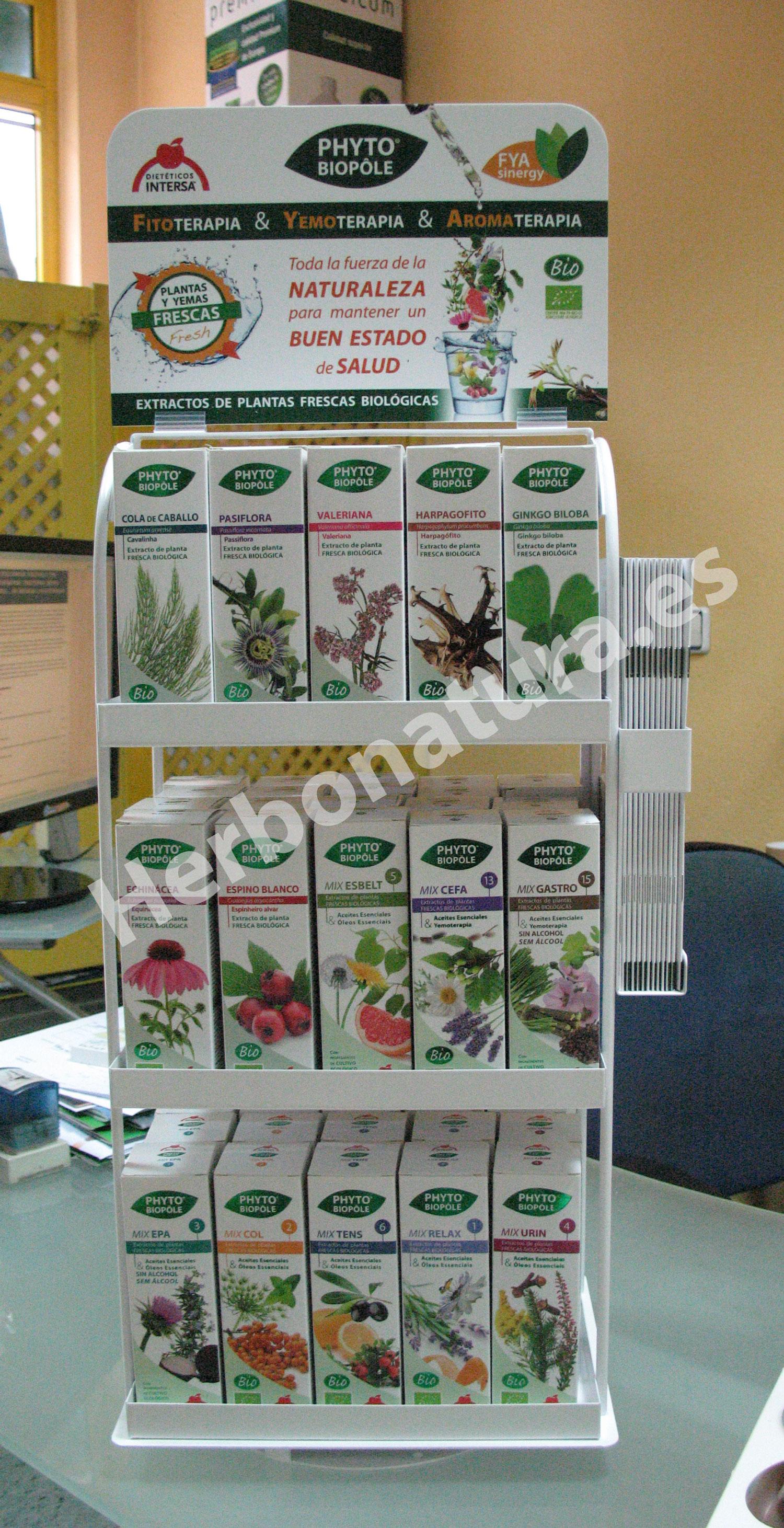 Gama de extractos de planta de Intersa en herbonatura.es