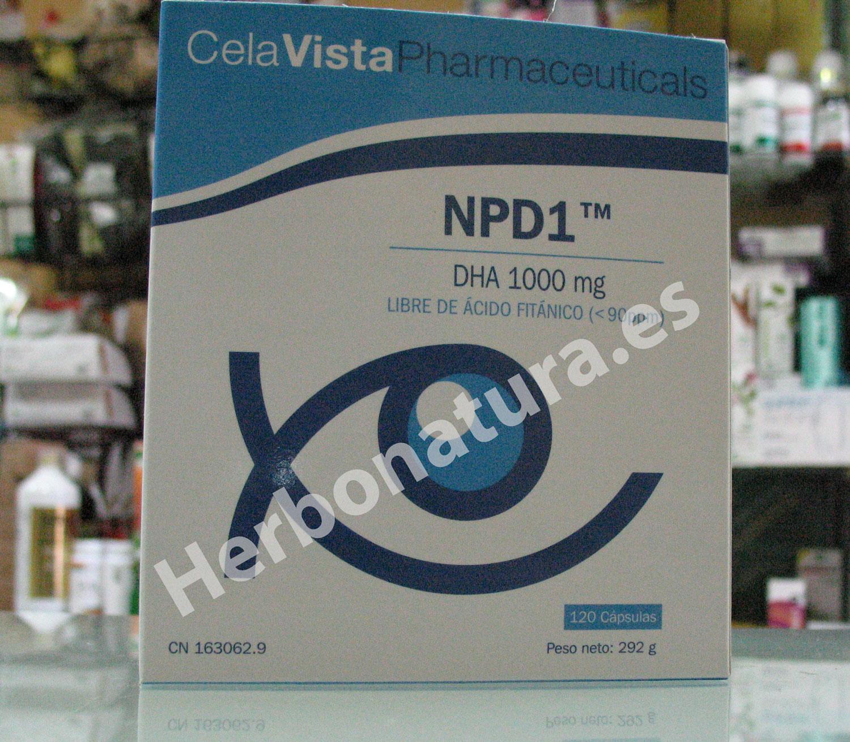 Nuevo NPD1 de CelavVista Pharmaceuticals en Herbonatura.es