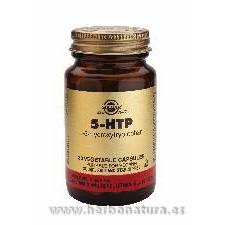 5 HTP. L-5-hidroxitriptófano 30 Cápsulas vegetales SOLGAR