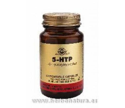 5 HTP. L-5-hidroxitriptófano 90 Cápsulas vegetales SOLGAR