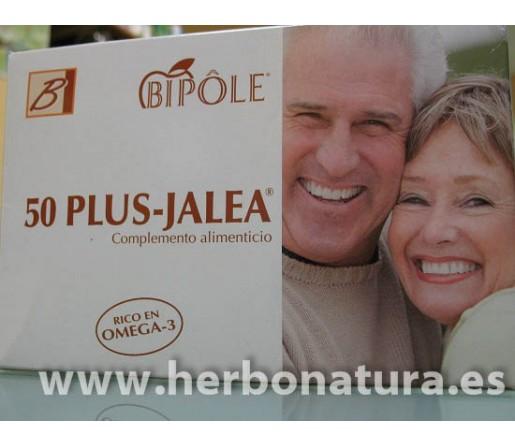 50 Plus Jalea Omega3 Bipole 20 ampollas INTERSA