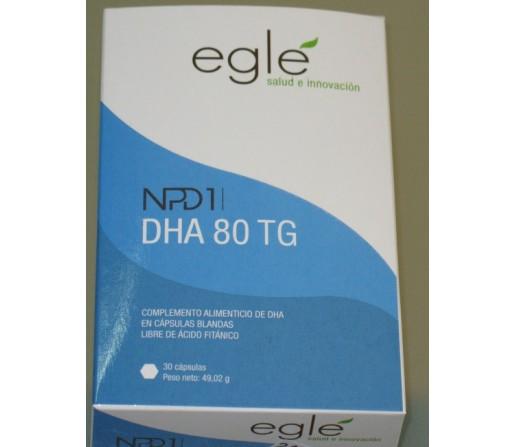 NPD1 DHA 80TG 30 cápsulas blandas EGLÉ.