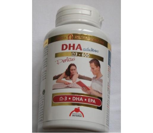 DHA adultos DHA y EPA Libre de Doixinas y Metales Pesados 90 perlas INTERSA