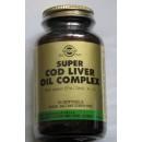 Super cod liver oil complex con EPA/DHA/A+D 60 perlas en Herbonatura.es