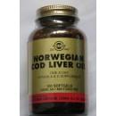 Aceite de hígado de bacalao Noruego 100 perlas SOLGAR en Herbonatura.es