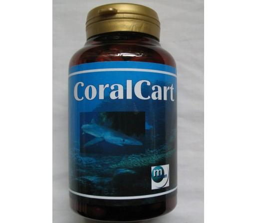 Coralcart Coral Cart coral marino, cartílago de tiburón y vitamina C 60 cápsulas MAHEN