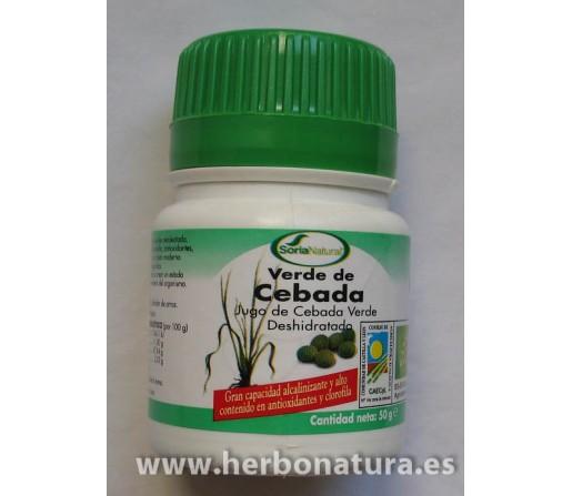 Verde de Cebada 100 comprimidos SORIA NATURAL