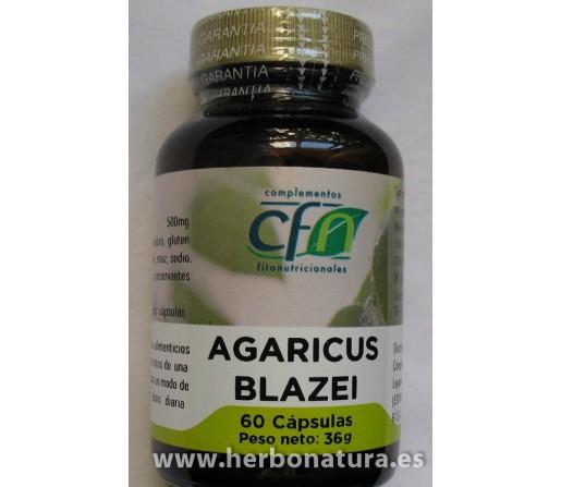 Agaricus Blazei Champiñón del Sol 60 cápsulas CFN