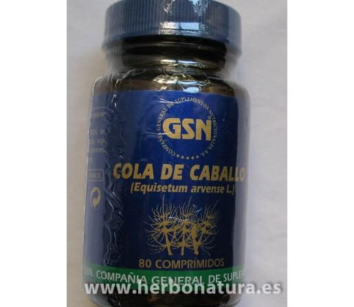 Cola de Caballo 80 comprimidos GSN