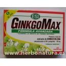 GinkgoMax Fórmula avanzada Ginkgo Biloba 30 comprimidos ESI