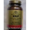 Kelp, Yodo de fuente natural 250 comprimidos SOLGAR en Herbonatura.es