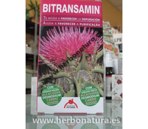 Bitransamin, depuración 60 cápsulas INTERSA