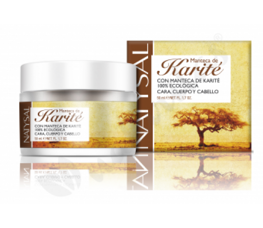 Crema a base de Manteca de Karité Ecológica 50ml. NATYSAL