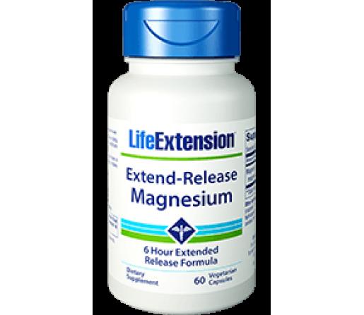 Extend-Release Magnesium, ZümXR® óxido y citrato de magnesio 60 cápsulas vegetales LIFEEXTENSION