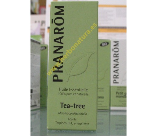Aceite Esencial Arbol del Té (Melaleuca alternifolia) 10ml. PRANAROM