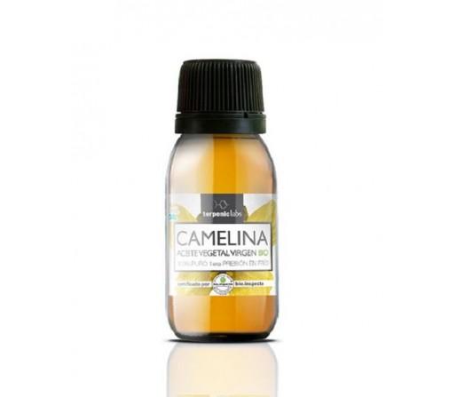 Aceite de Camelina, Camelina sativa Virgen de primera presión en frío 100ml. TERPENIC LABS