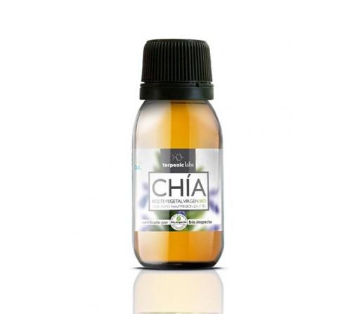 Aceite de Chia, Salvia hispanica Virgen de primera presión en frío 100ml. TERPENIC LABS