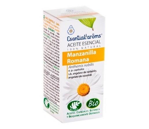 Aceite Esencial Manzanilla Romana (Anthemis nobilis) 5ml. ESENTIAL AROMS
