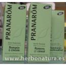Aceite esencial Romero Qt. Cineol BIO (Rosmarinus officinalis qt. cineol) 10ml. PRANAROM