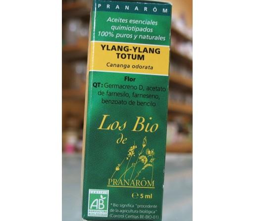 Aceite Esencial Ylang-Ylang Ecológico (cananga odorata) 5ml. PRANAROM