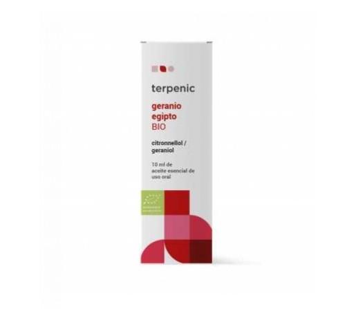 Aceite Esencial Geranio de Egipto Biológico ( Pelargonium graveolens) 10ml. TERPENIC LABS