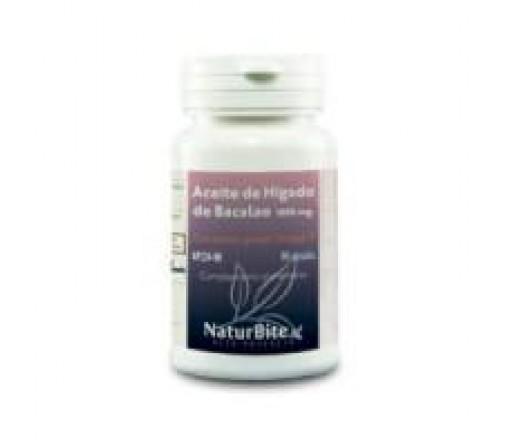 Aceite de hígado de Bacalao 1000mg. 90 perlas NATURBITE