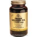 Aceite de Linaza prensado en frío 1250 mg 100 cápsulas blandas SOLGAR en Herbonatura.es