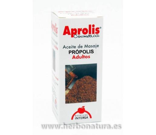 Aceite Masaje Balsámico de Própolis Adultos Aprolis 100ml. INTERSA