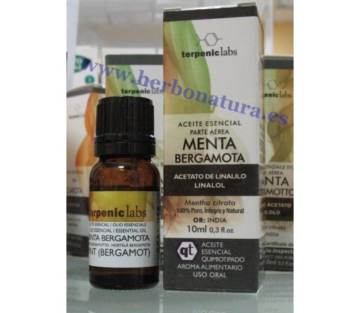Aceite Esencial Menta Bergamota ( mentha citrata), 10ml. TERPENIC LABS