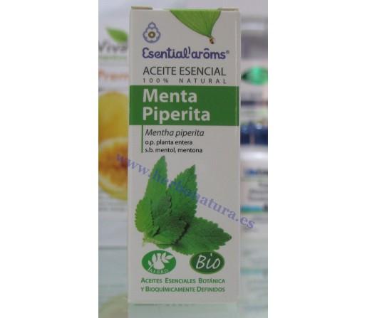 Aceite Esencial Menta Piperita Biológico (Mentha  piperita) 10ml. ESENTIAL AROMS