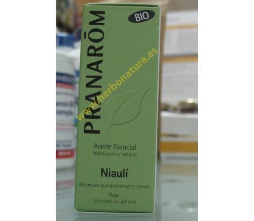 Aceite Esencial Niaulí Biológico (Melaleuca Quinquenervia) 10ml. PRANAROM