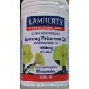 Aceite de Prímula Extra Alta Potencia con Borraja 90 cápsulas LAMBERTS en Herbonatura.es