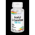 Acetil L-Carnitina 500mg. Acetyl L- Carnitine 30 Cápsulas vegetales SOLARAY