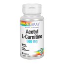 Acetil L-Carnitina 500mg. Acetyl L- Carnitine 30 Cápsulas vegetales SOLARAY en Herbonatura.es