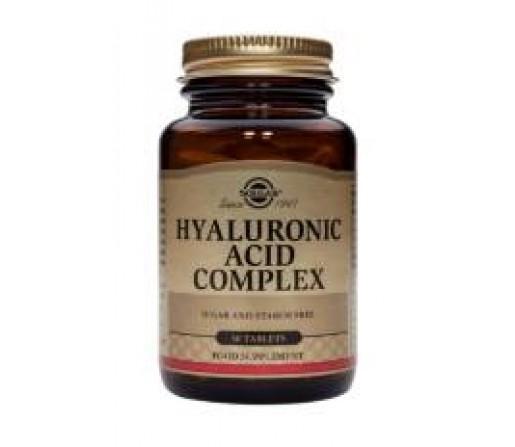 Acido Hialurónico Complex, Hyaluronic Acid 30 comprimidos SOLGAR