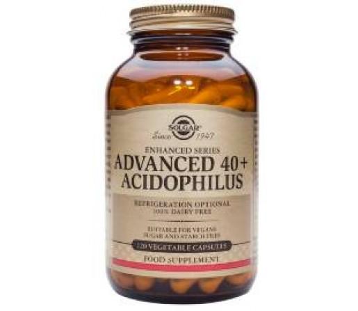 Acidophilus Avanzado 40+ 60 cápsulas SOLGAR