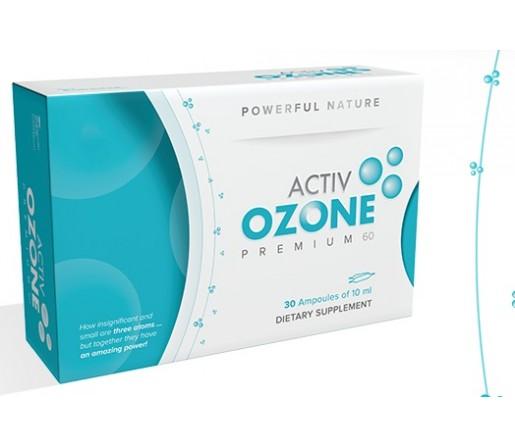 Activ Ozone Premium 60 Ozonización de Aceite de Oliva 30 ampollas KEYBIOLOGICAL