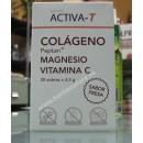 Activa-T Colágeno, Magnesio y Vitamina C Sabor fresa 20 sobres BEDAR en Herbonatura.es