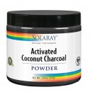 Activated Coconut Charcoal Carbón Activo de Coco 75gr. SOLARAY en Herbonatura.es