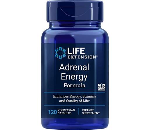 Adrenal Energy Formula, Ashwagandha, Cordyceps, Bacopa... 120 cápsulas LIFEEXTENSION