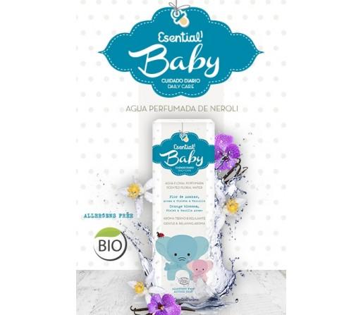 Agua Floral Perfumada Baby Ecológica Bebe 100ml ESENTIAL AROMS