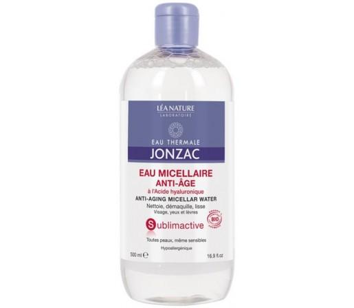 Agua Micelar Anti-edad Sublimactive Termal sin alcohol Biologica , 150ml. JONZAC