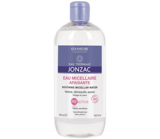 Agua Micelar Calmante Reactive Termal sin alcohol Biologica , 150ml. JONZAC