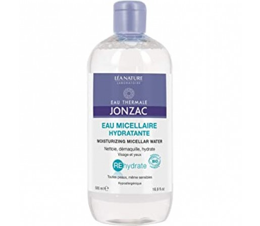 Agua Micelar Hidratante Rehydrate Termal sin alcohol Biologica , 500ml. JONZAC