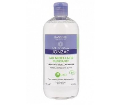 Agua Micelar Purificante Termal sin alcohol Biologica Pure, 500ml. JONZAC