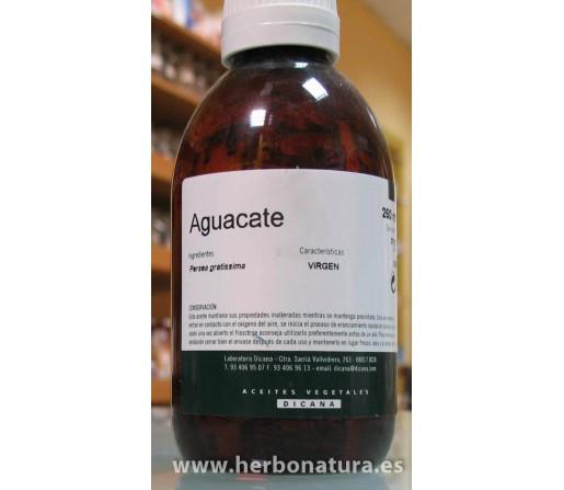 Aceite Virgen Aguacate (Persea gratissima) 250ml. DICANA