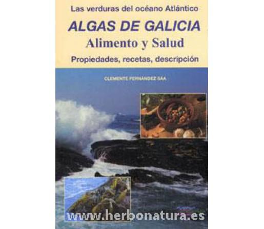 Algas de Galicia, alimento y salud, propiedades, recetas y descripción Libro, Clemente Fernández Sáa ALGAMAR