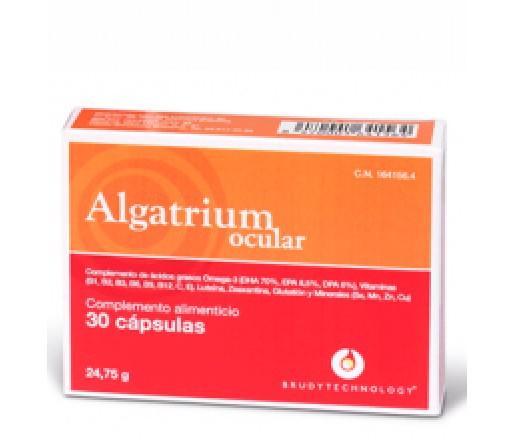 Algatrium Ocular Omega 3, DHA 30 perlas Solaray BRUDYTECHNOLOGY