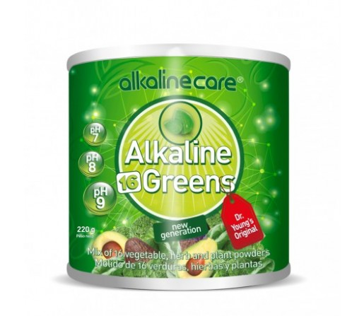 pH Miracles Greens Alcaclinizante 220gr. YOUNG PHOREVER