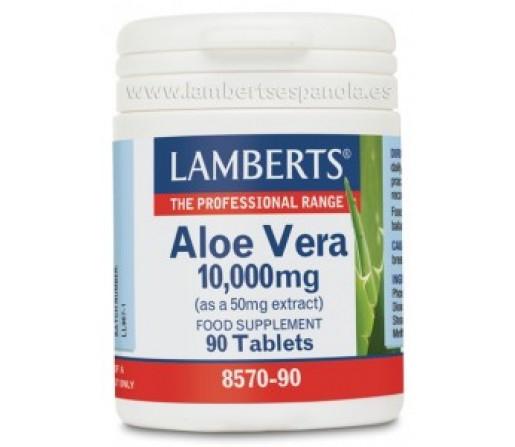 Aloe Vera 10000mg. 90 comprimidos LAMBERTS
